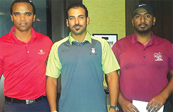 Gulf Weekly Isa-Ali duo win as Tankard-Alexander lead order of merit