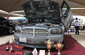 Gulf Weekly Car show captivates crowd