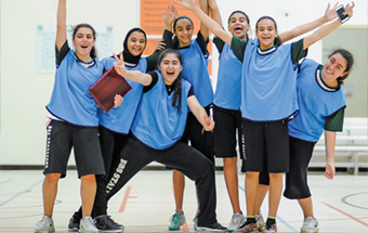 Gulf Weekly Students shine on court