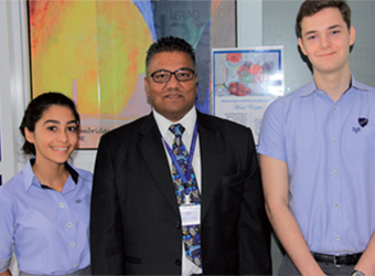 Gulf Weekly Model student leads the way