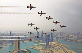 Gulf Weekly Sensational style in the sky