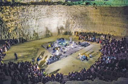Gulf Weekly REVIEW: Nocturne for Pit Orchestra – National Quarry of Bahrain