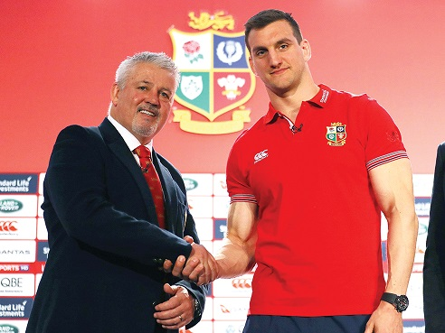 Gulf Weekly Gatland's men face the test