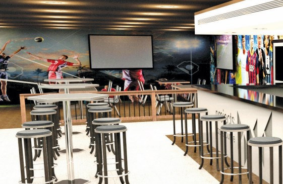 Gulf Weekly Sports lounge gets facelift