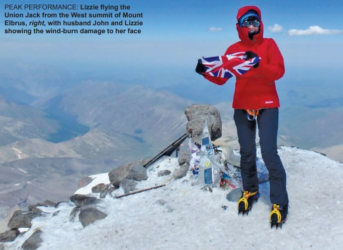 Gulf Weekly Couple reach another mountain summit