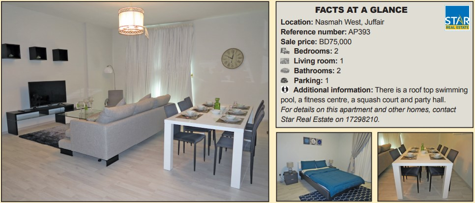 Gulf Weekly Stylish apartment for sale