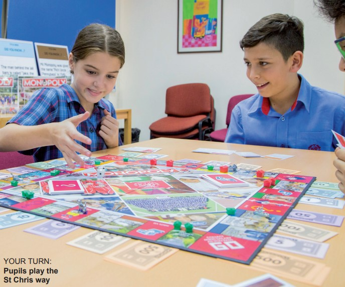 Gulf Weekly It's game on for school