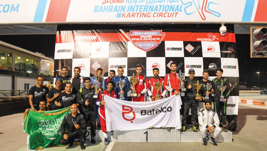 Gulf Weekly Three-hour karting classic glory for dynamic duo