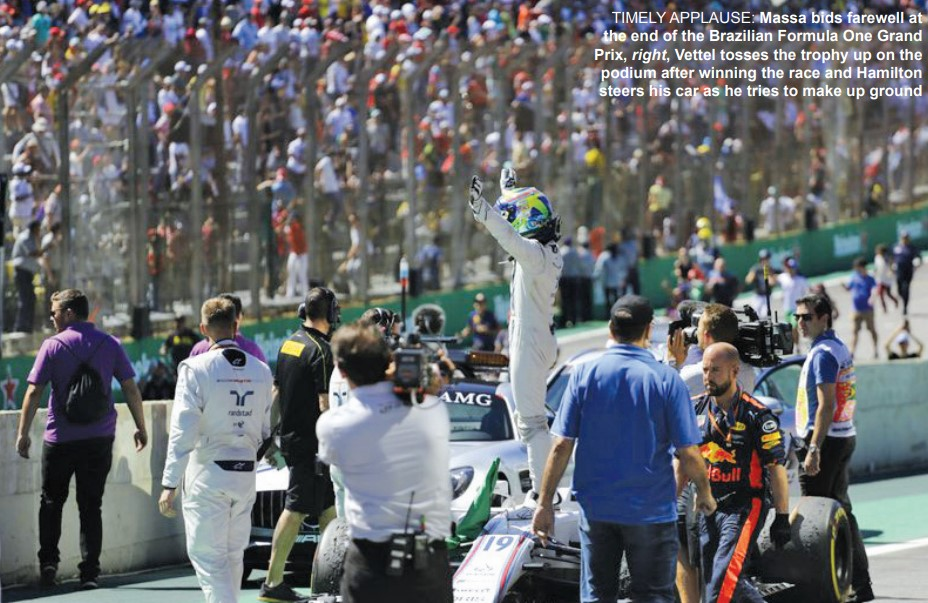 Gulf Weekly It's farewell (again) to Massa