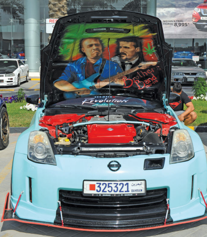 Gulf Weekly Classic cars touch the heart