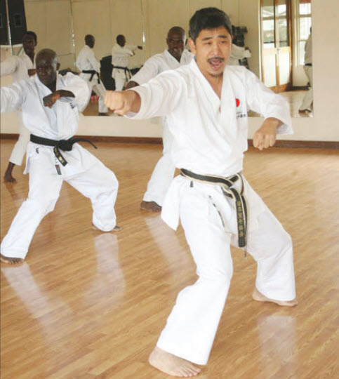 Gulf Weekly Karate king and the kids