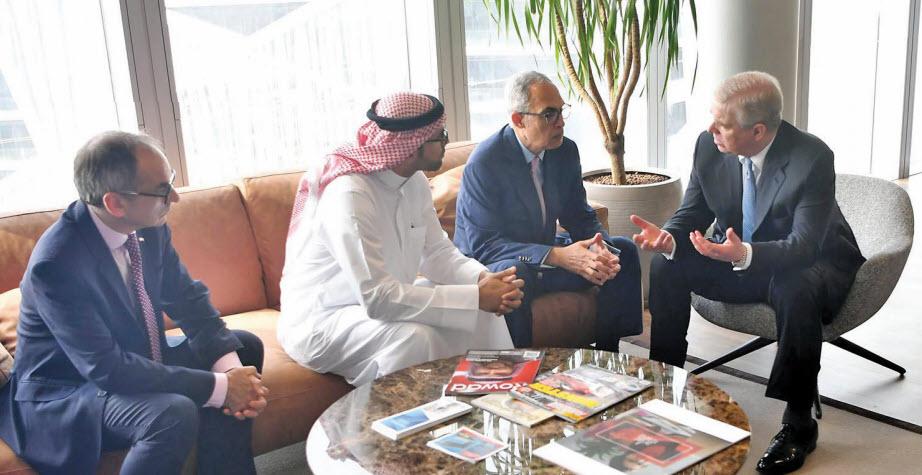 Gulf Weekly British royal calls into new hub