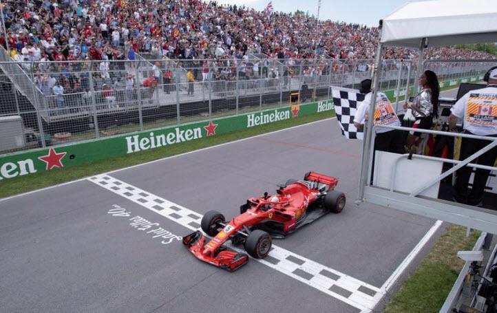 Gulf Weekly Flags fly twice for Ferrari!