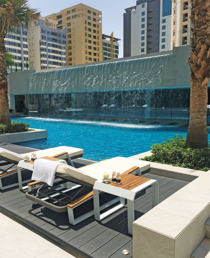Gulf Weekly Calming, cool and cascading