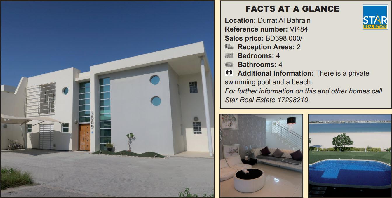 Gulf Weekly Idyllic villa in luxury location