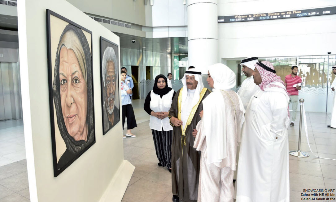 Gulf Weekly Pretty portraits of leading personalities