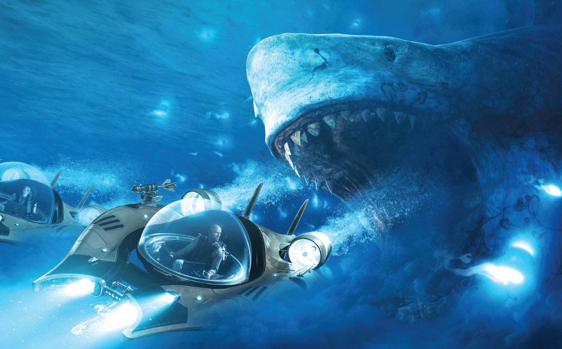 Gulf Weekly Statham vs shark