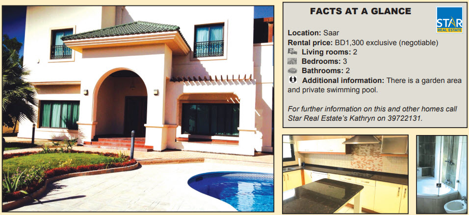 Gulf Weekly Dream home in top location