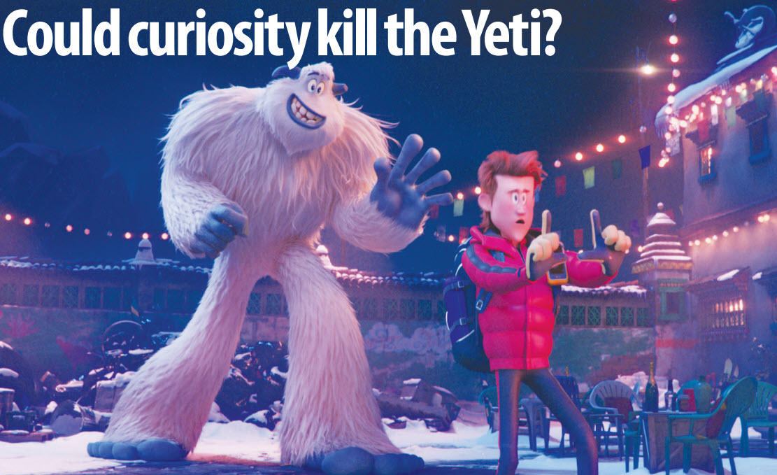Gulf Weekly Could curiosity kill the Yeti?