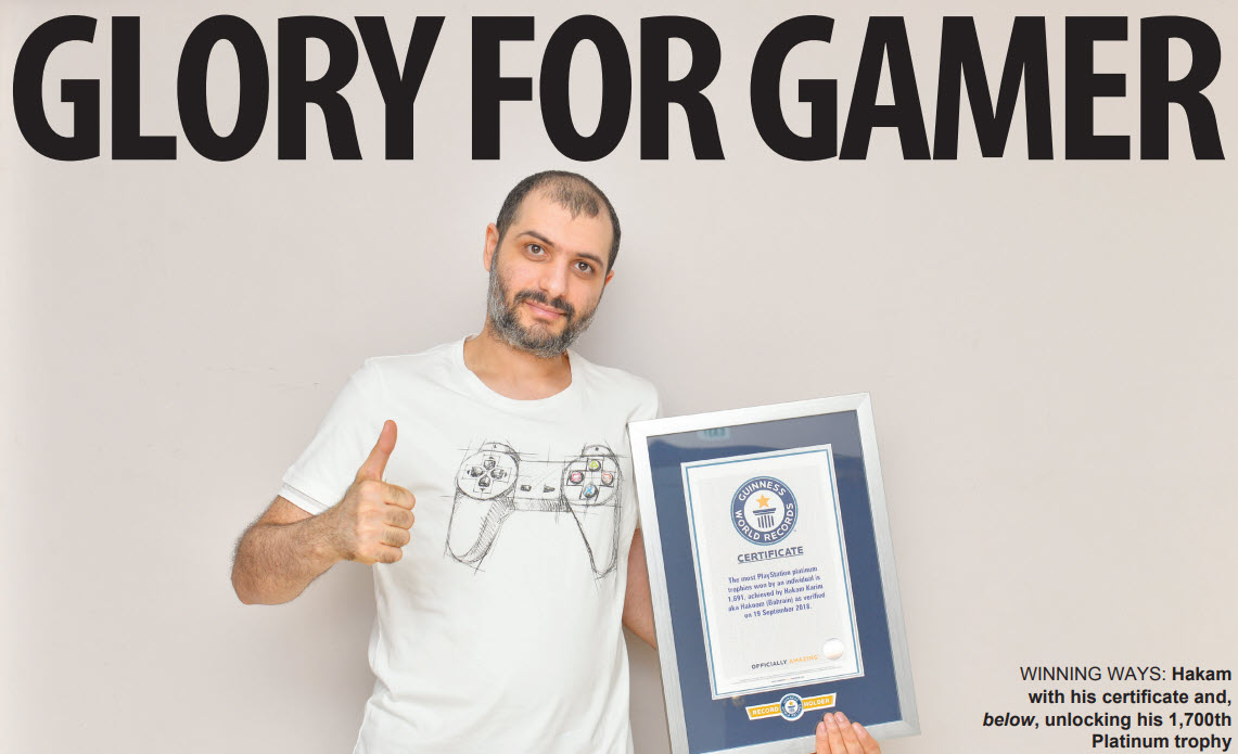 Gulf Weekly GLORY FOR GAMER