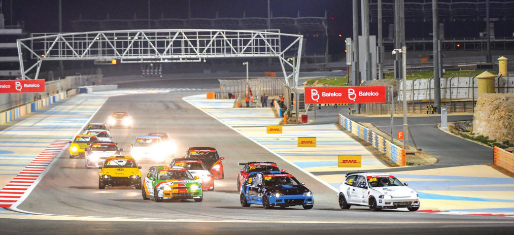 Gulf Weekly Track action thrills the fans