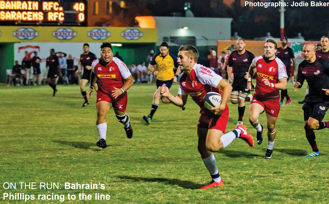Gulf Weekly Brutal Bahrain crush Saracens with Exiles next on the agenda
