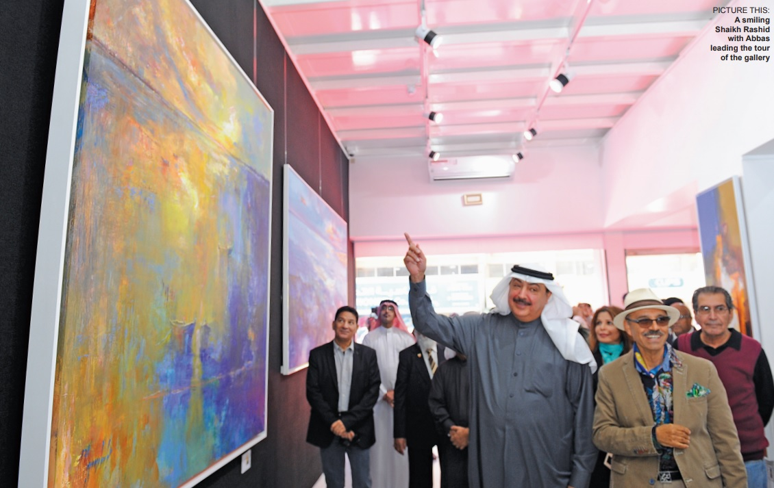 Gulf Weekly New gallery in the frame for art lovers
