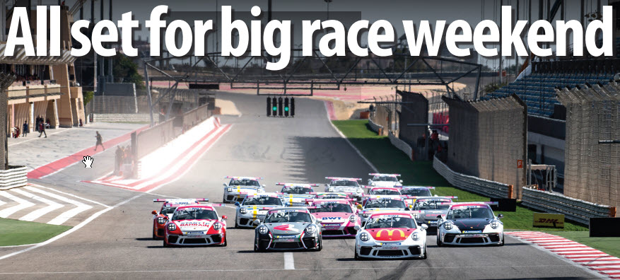 Gulf Weekly All set for big race weekend