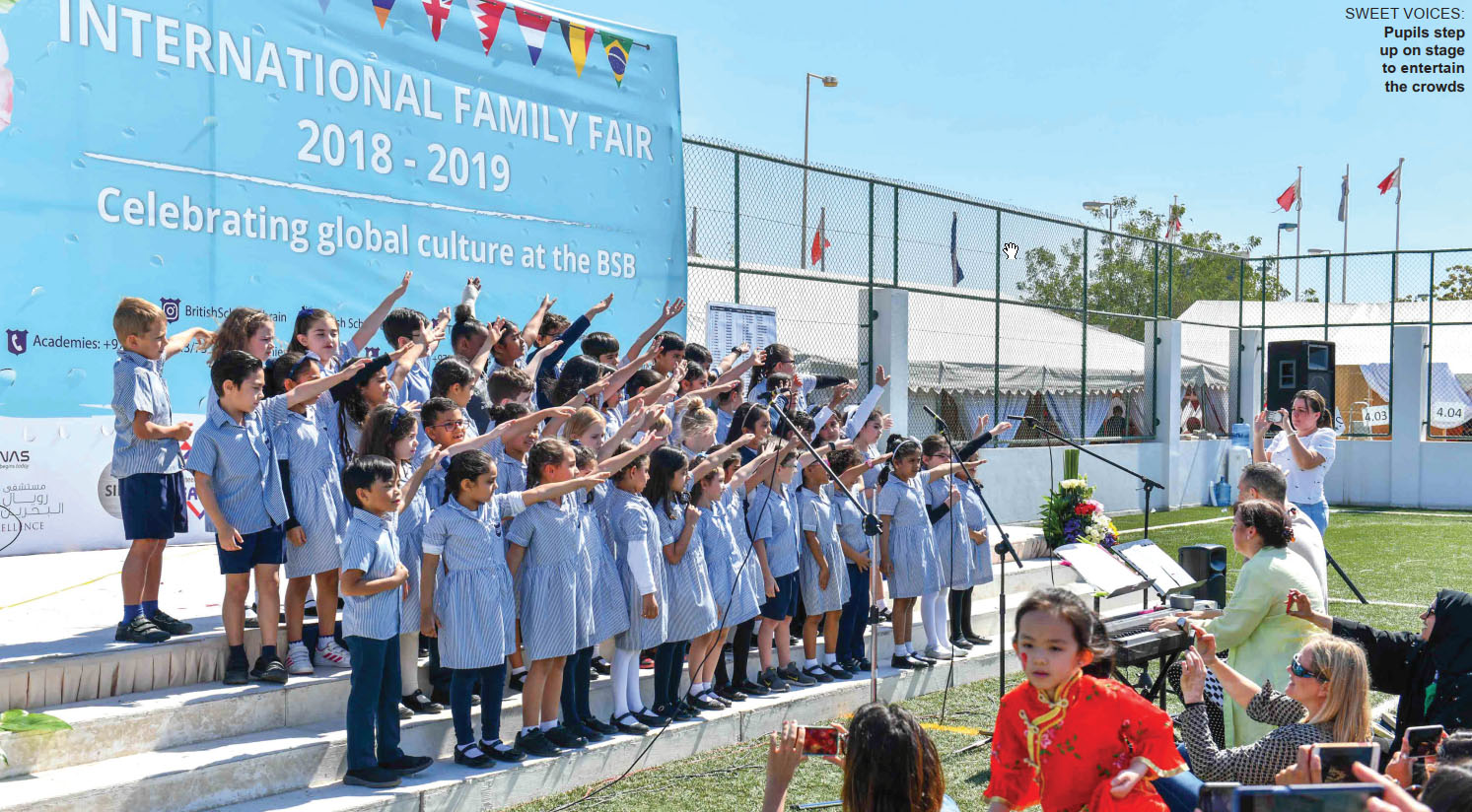Gulf Weekly Sunshine and smiles at spring fair