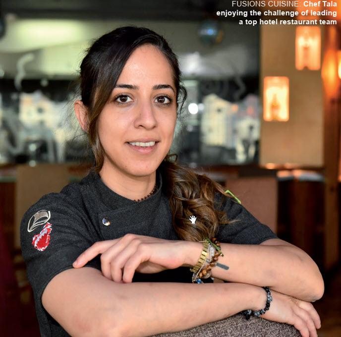 Gulf Weekly Tala's talent rewarded
