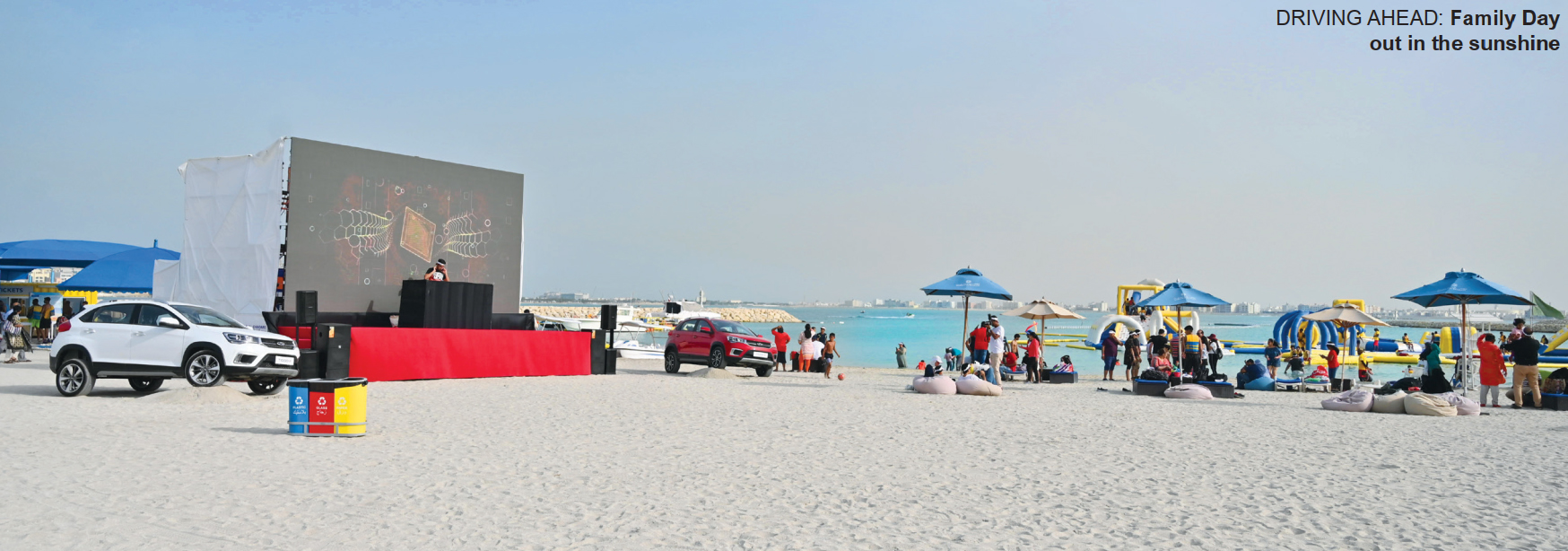 Gulf Weekly Beach delights for families