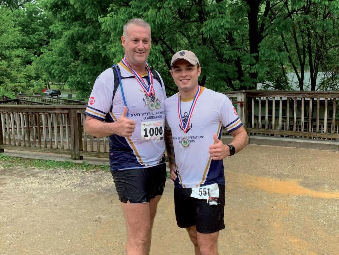Gulf Weekly Marathon joy for navy boys
