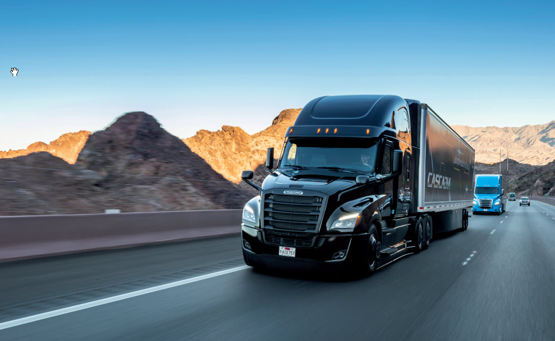 Gulf Weekly Truck tech moving ahead