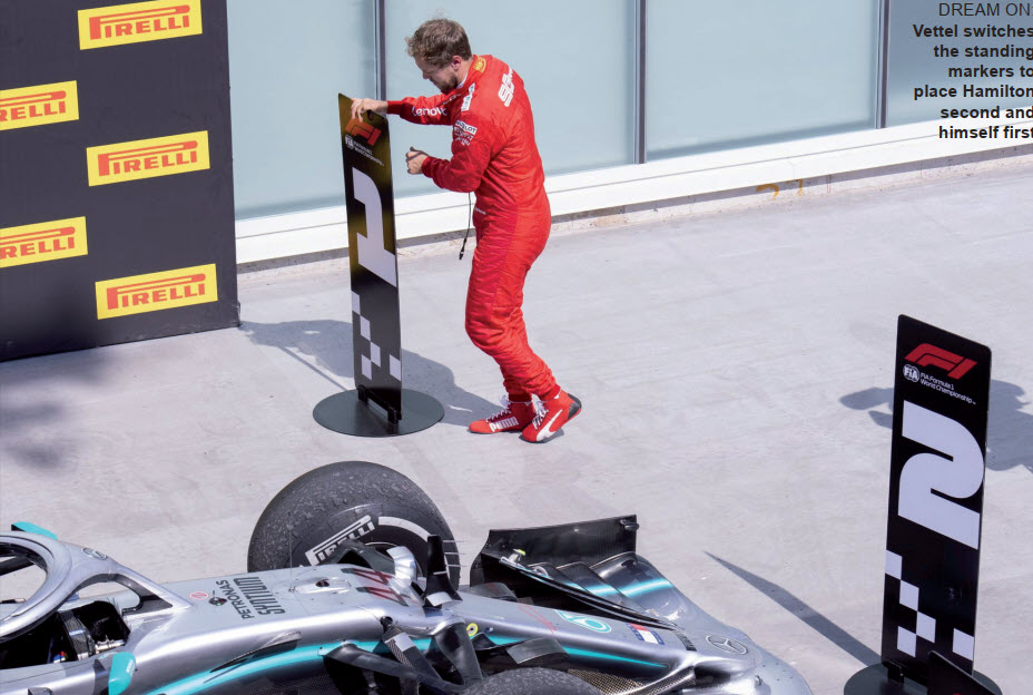 Gulf Weekly Sign of the times for Vettel