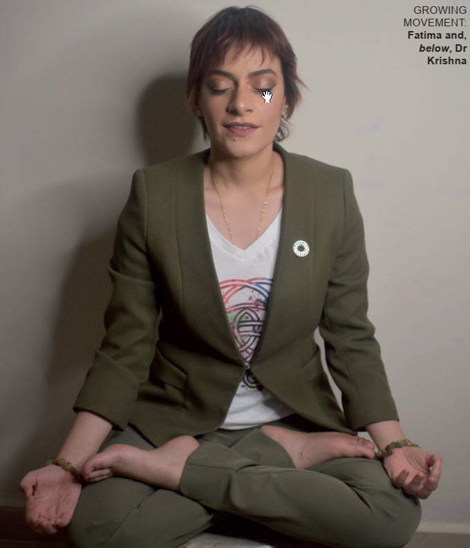 Gulf Weekly Yoga unites