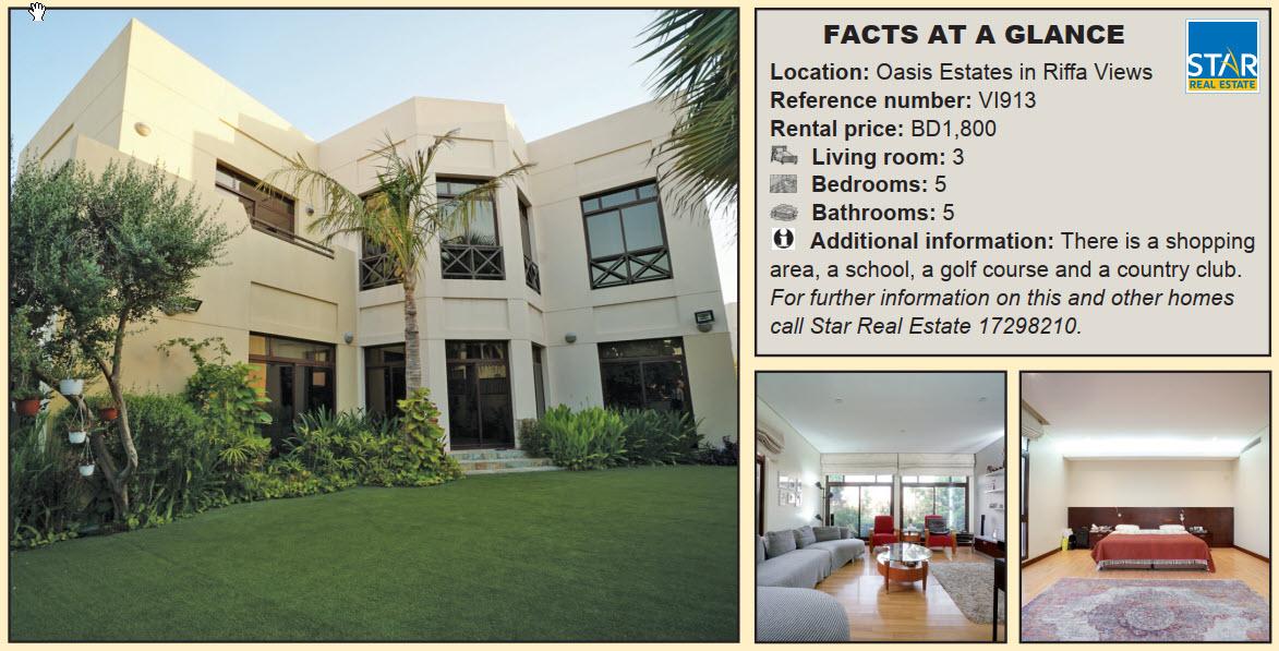 Gulf Weekly Spacious Arabesque home