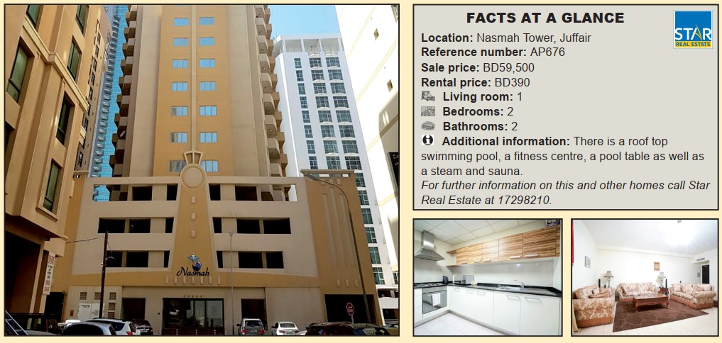 Gulf Weekly Spacious flat for rent or sale