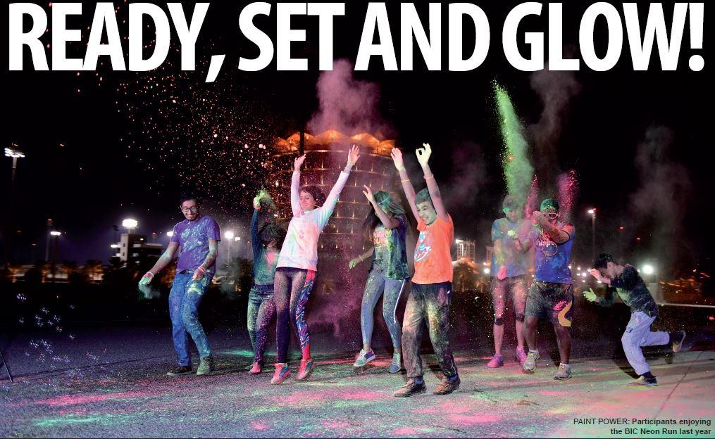 Gulf Weekly READY, SET AND GLOW!