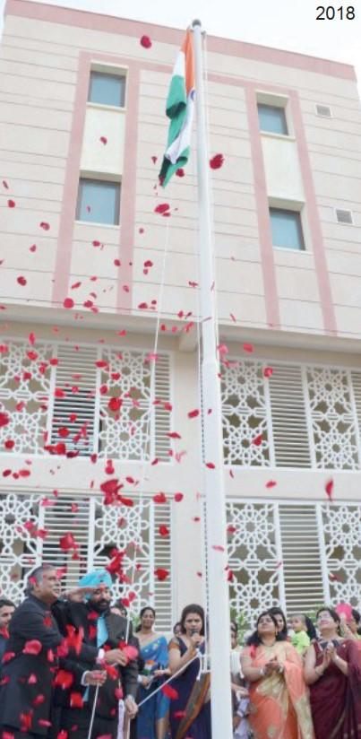 Gulf Weekly India celebrates Independence Day