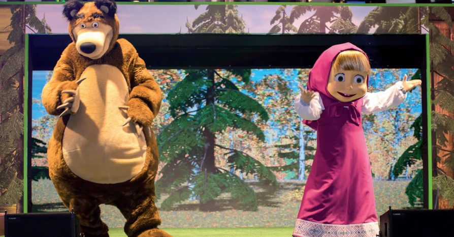 Gulf Weekly Masha and the Bear in town