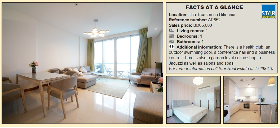 Gulf Weekly Cosy apartment up for sale