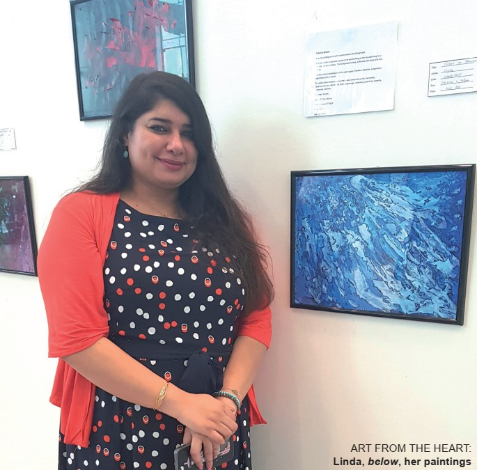 Gulf Weekly Expressive exhibition