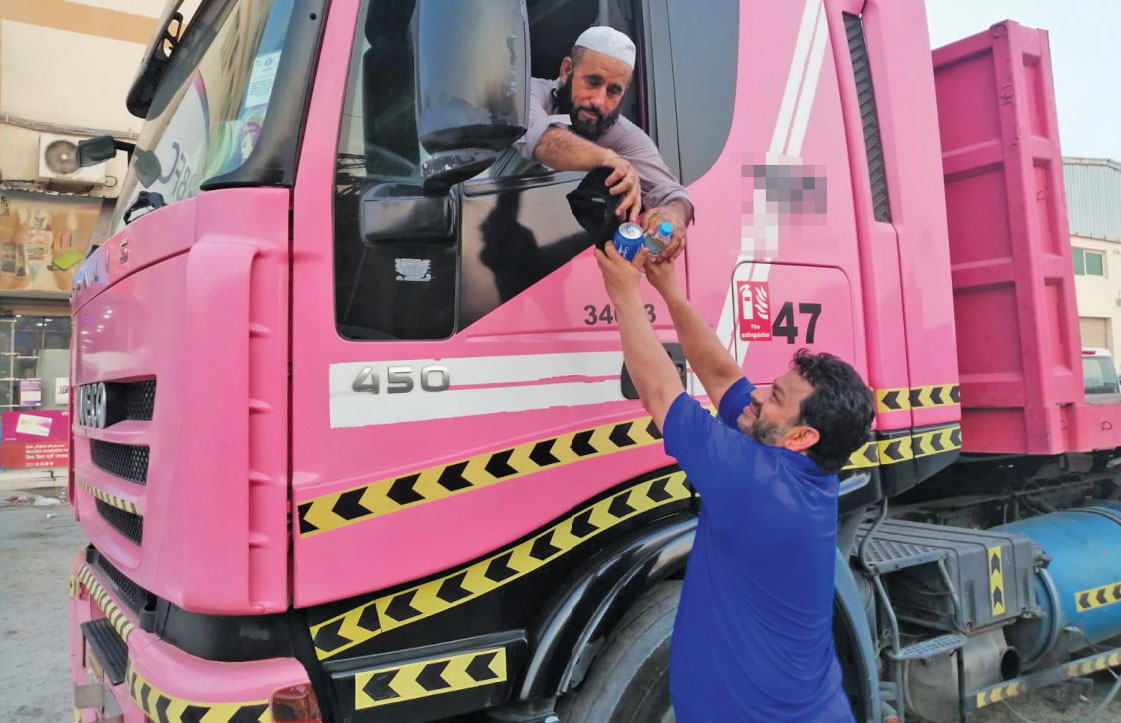 Gulf Weekly Lending a labour of kindness