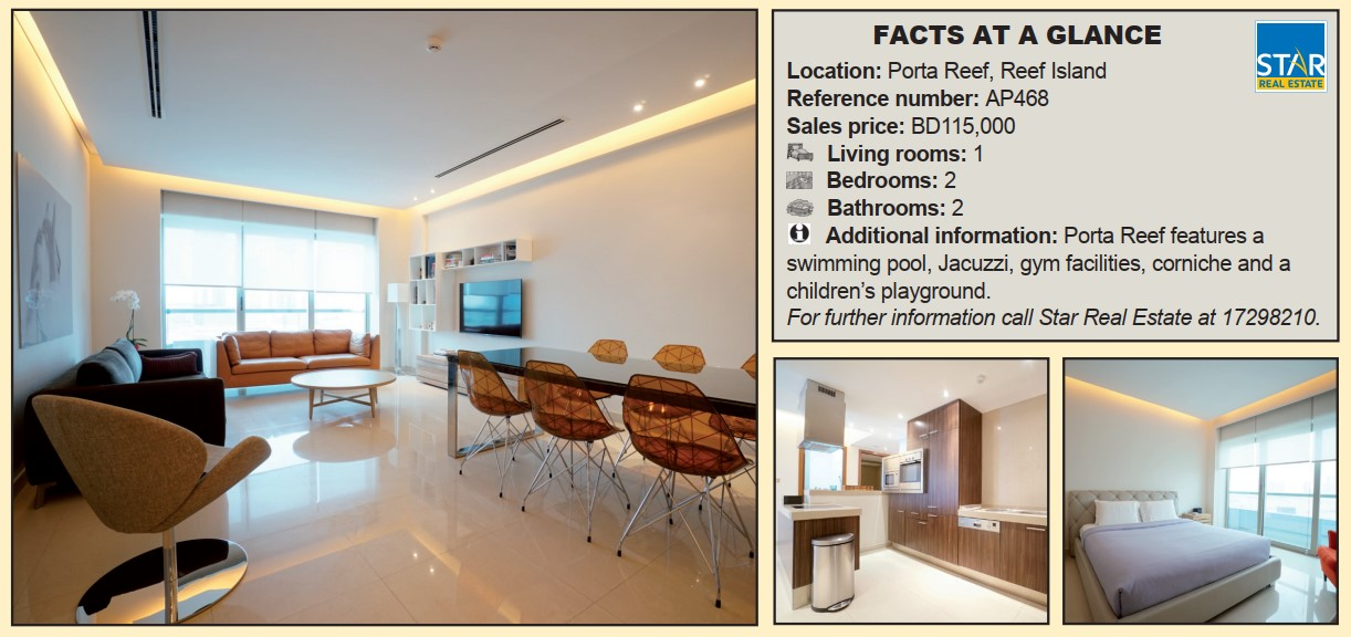 Gulf Weekly Spacious apartment for sale