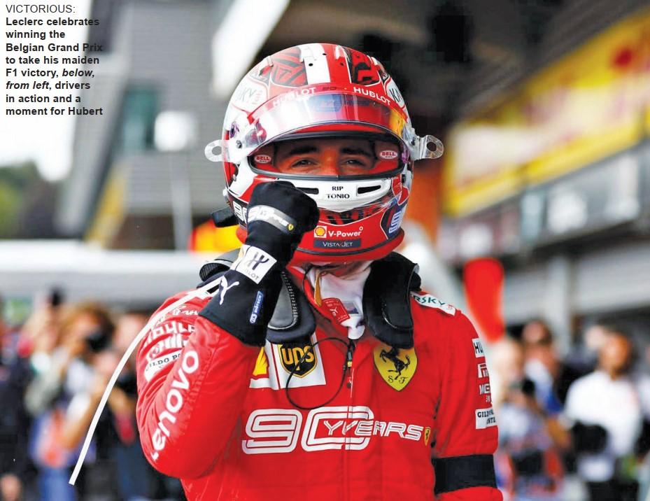Gulf Weekly Ferrari gets back on track