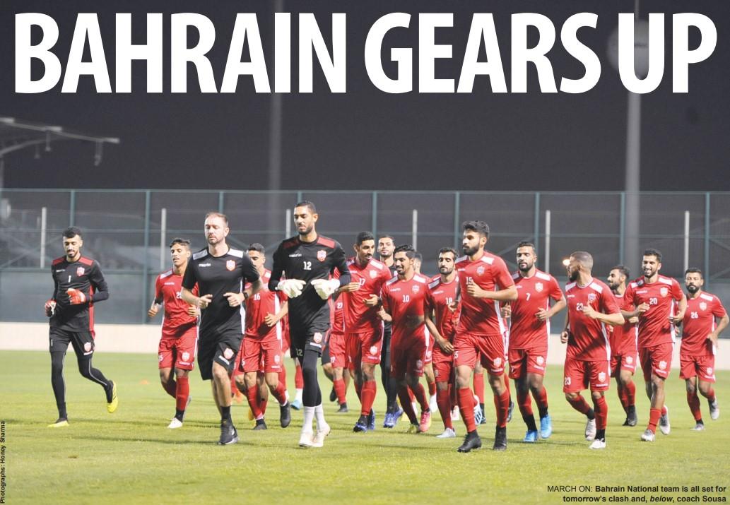 Gulf Weekly BAHRAIN GEARS UP