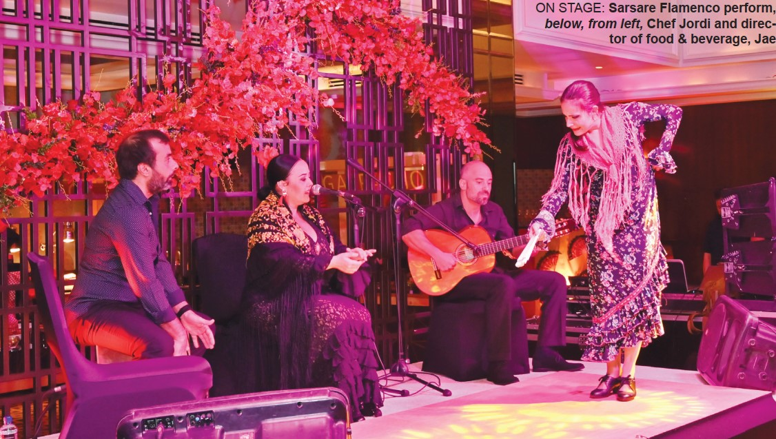 Gulf Weekly Flamenco feast