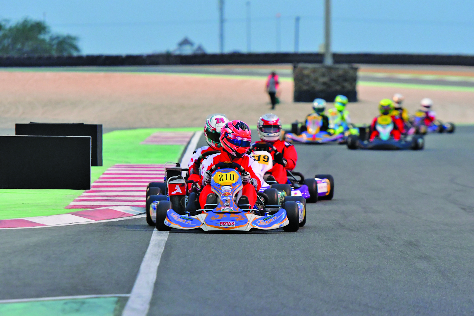 Gulf Weekly Go karting for glory