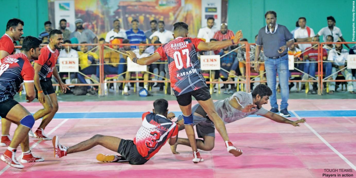 Gulf Weekly Kabbadi a knockout
