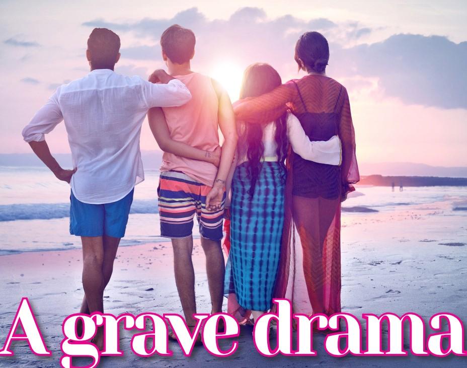 Gulf Weekly A grave drama